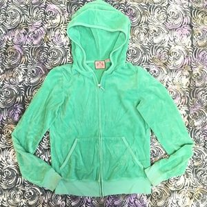 Juicy Couture Terry Cloth Hoodie - L
